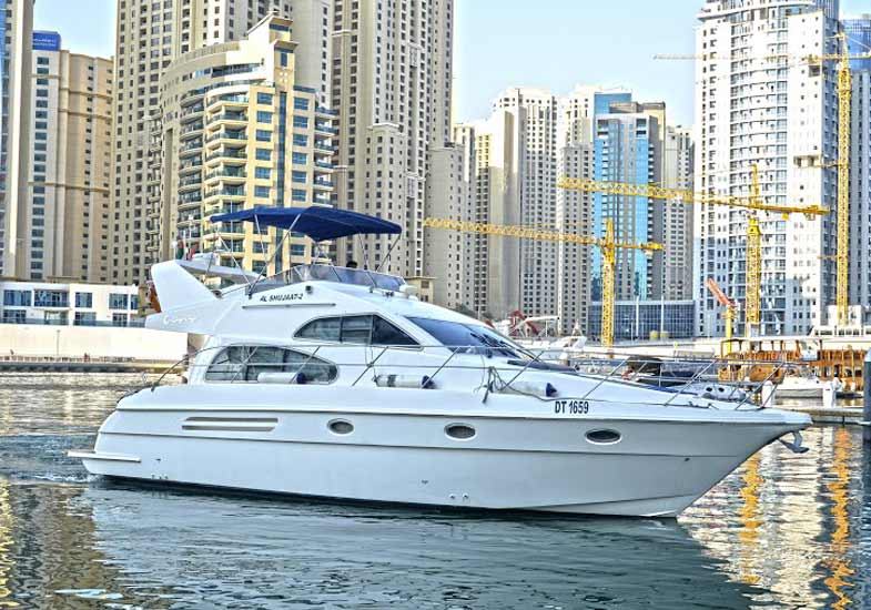 The Best 42 Feet Yacht Cruise For Families in Dubai