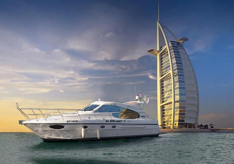 50 Feet Luxury Yacht - Al Shujaat 7