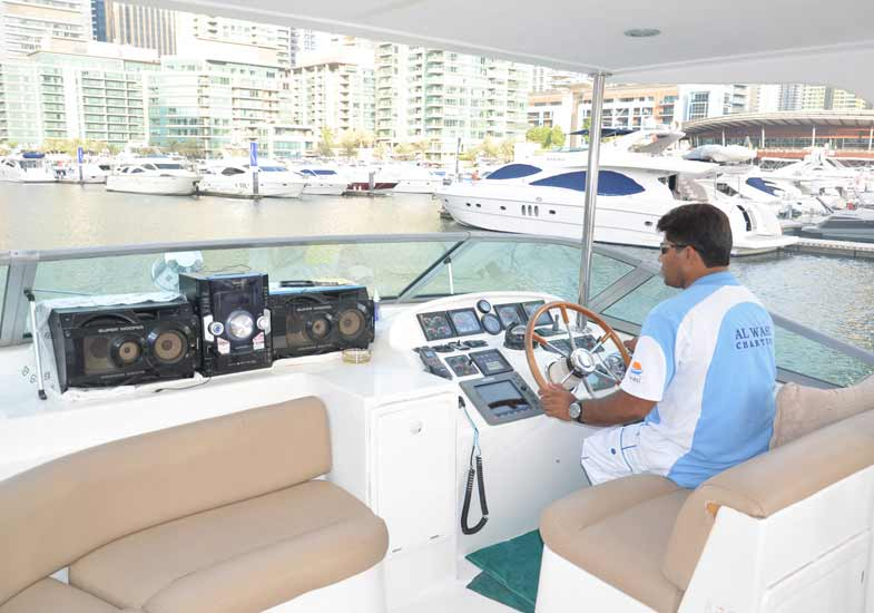 Luxurious 55 Feet Yacht Sports Boat