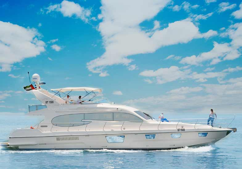 Family Vacation on a 70 Feet Luxury Yacht