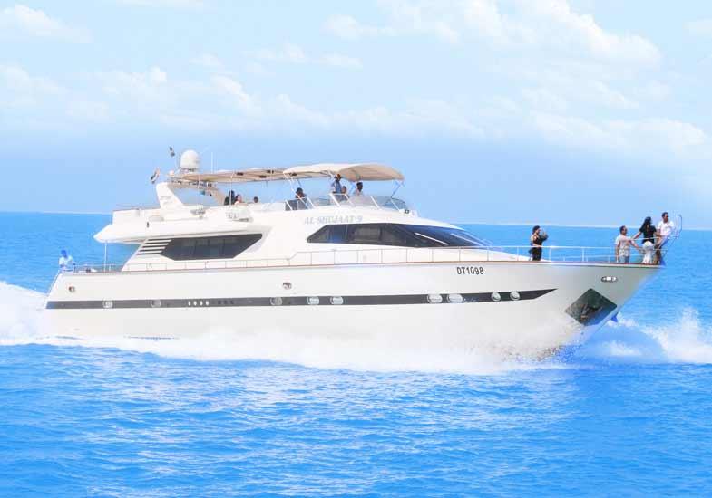 Amazing 85 Feet Luxury Yachting in Dubai