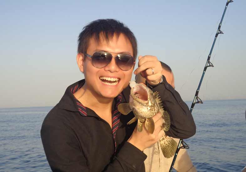 Amazing Dubai Deep Sea Fishing Tour