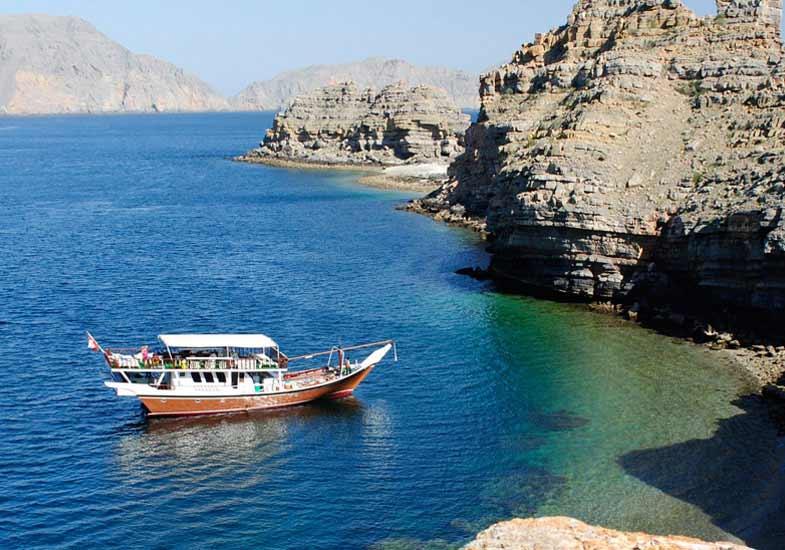 Musandam Dibba Boat Cruise Trip