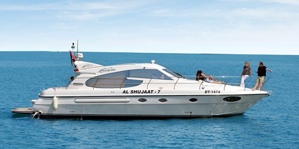 50 Feet Luxury Yacht
