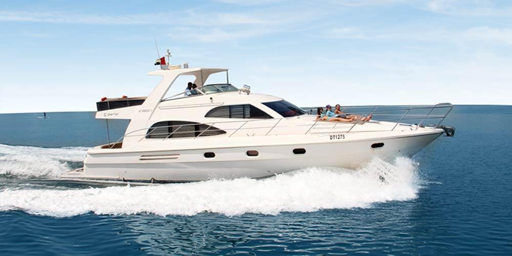55 Feet Luxury Yacht
