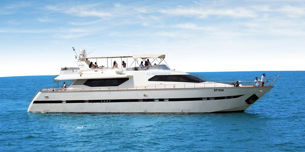 Romantic Yacht Cruise Trip in Dubai