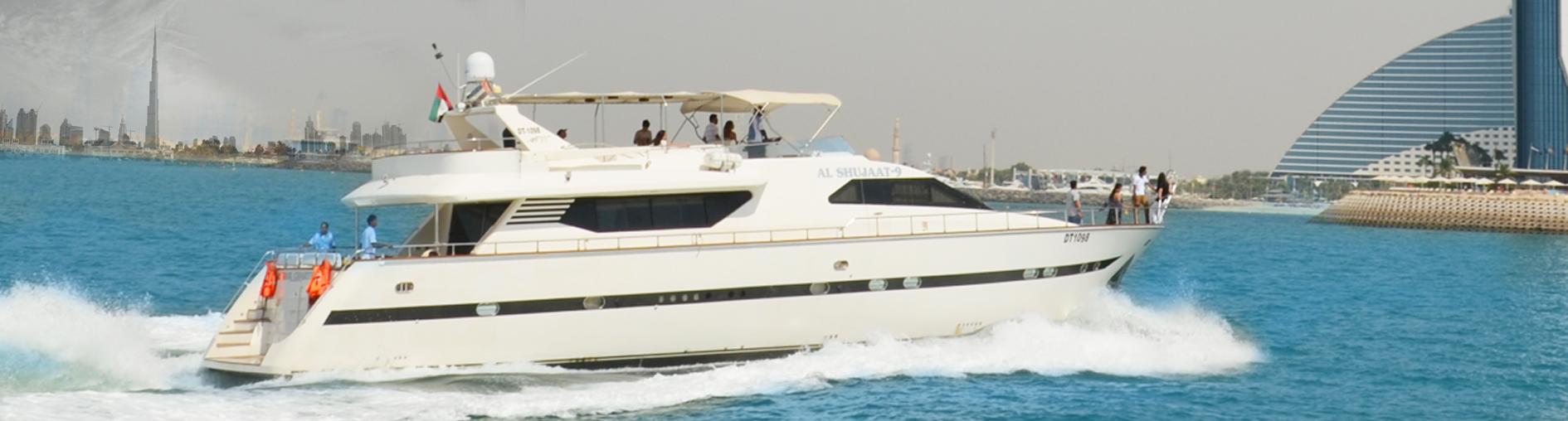 yacht charter Dubai